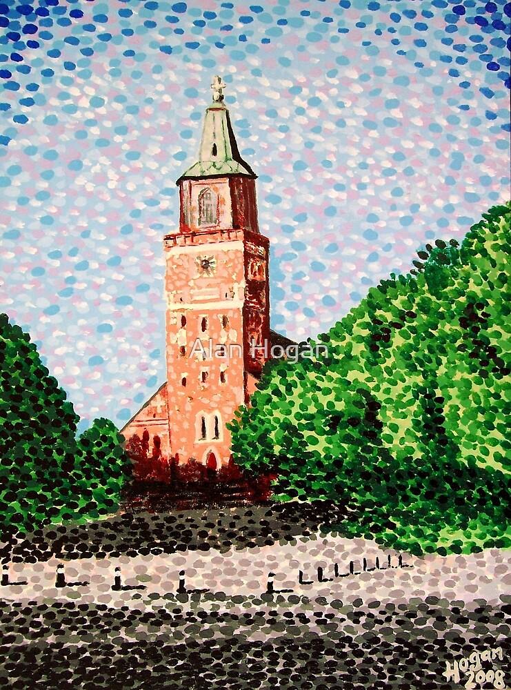 Turku Cathedral, Finland by Alan Hogan