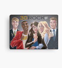 30 Rock Metal Print