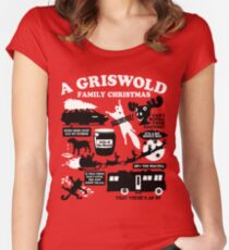 A Griswold Family Christmas Women's Fitted Scoop T-Shirt