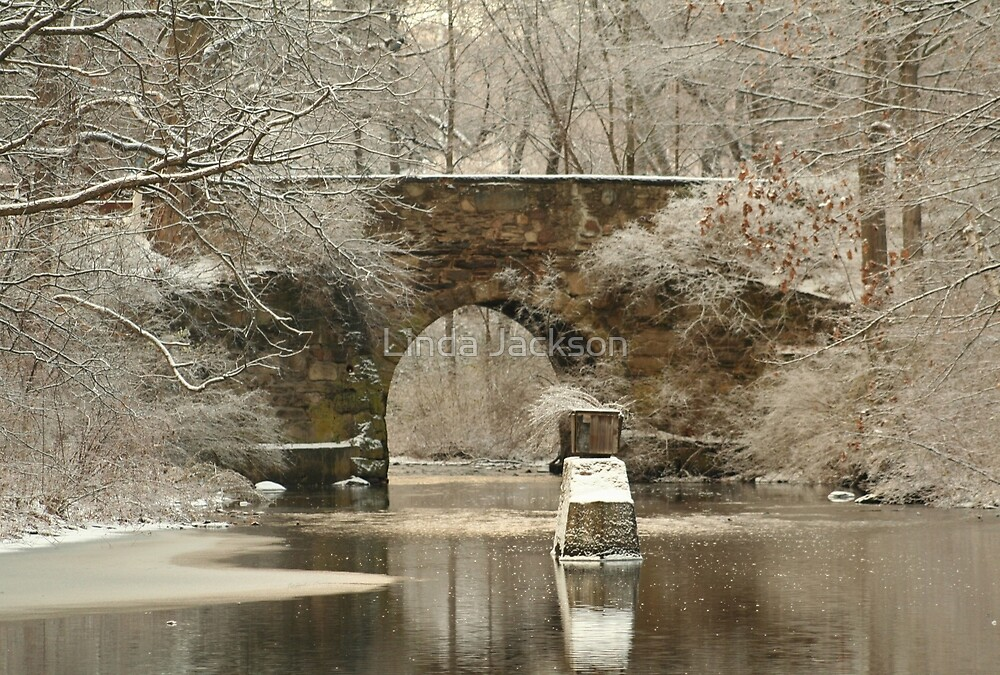 A Stone Bridge over 2800 Views!   by Linda Jackson
