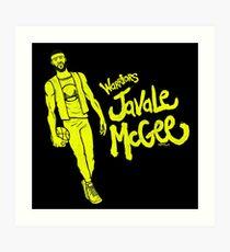 McGee - Warriors Art Print