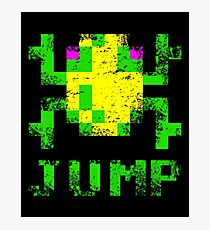 Frogger Jump Photographic Print