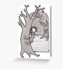 'Ahhh' Greeting Card
