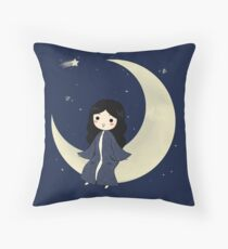 Philippe The Moon King Throw Pillow