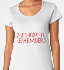 the north remembers Women's Premium T-Shirt