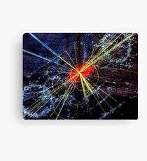 Higgs-Boson#1 Canvas Print