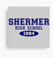 Shermer High School Canvas Print