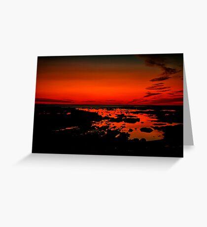 """Daybreak on Point Grey"" Greeting Card"