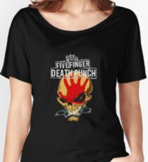 Death Punch Five Finger Women's Relaxed Fit T-Shirt