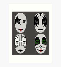 Sincara Kiss Art Print