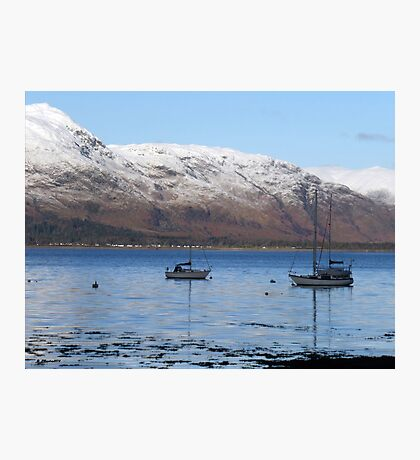 Loch Linnhe at Fort William, Scotland Photographic Print