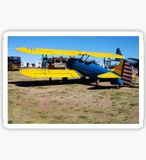 Stearman Biplane Sticker