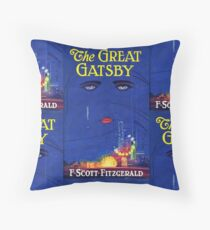 The Great Gatsby Print Throw Pillow