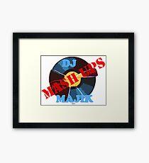 DJ MAJIK MASHUP LOGO Framed Print