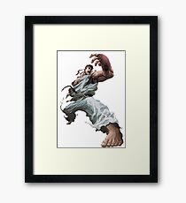 Ryu - Street fighter  Framed Print