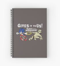 Nasty Hedgehog!!! Spiral Notebook