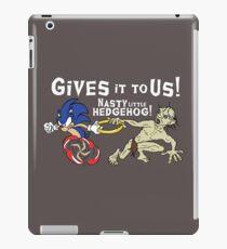 Nasty Hedgehog!!! iPad Case/Skin