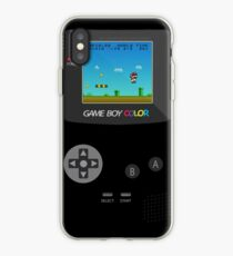 Retro Nintendo Game Boy Super Mario  iPhone Case