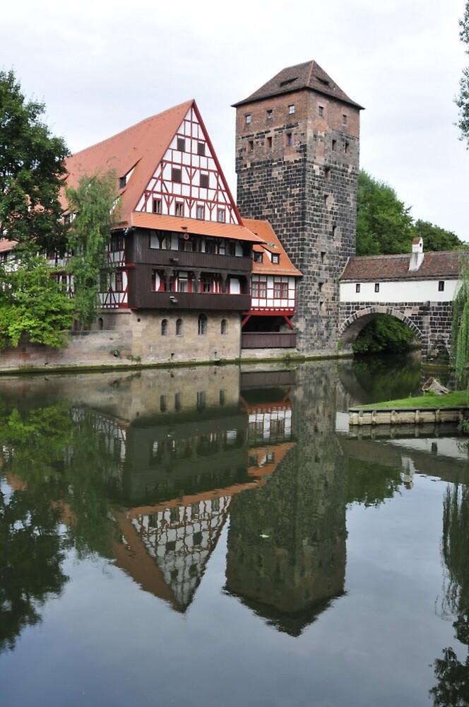 Nuernberg Reflections by bertspix