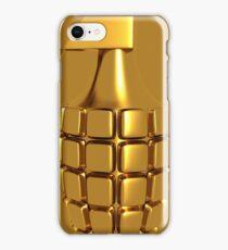 Golden Hand Grenade   iPhone Case/Skin