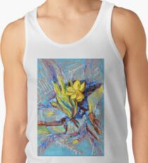 Daffodil in my rock garden I Tank Top