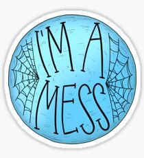 I'm a Mess Lyrics Sticker