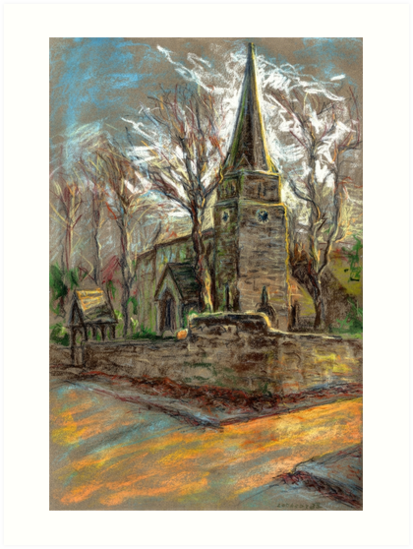 St Michael Church in Breaston, Derbyshire, UK by Linandara