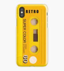 Cassette Tape 60 iPhone Case/Skin