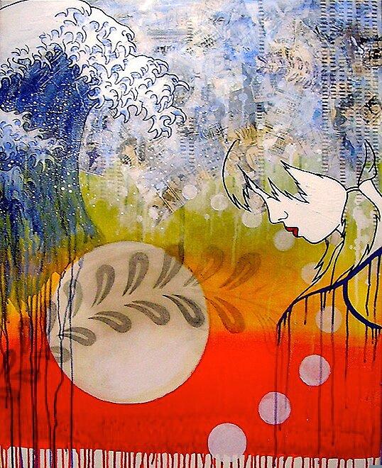 Tsunami by Simone Maynard