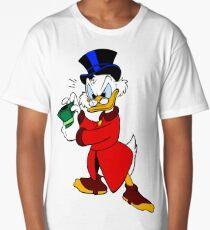 Scrooge McDuck Full Long T-Shirt