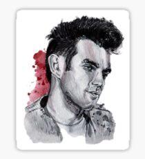 Morrissey. Sticker