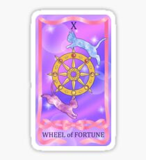 The Wheel of Fortune Sticker