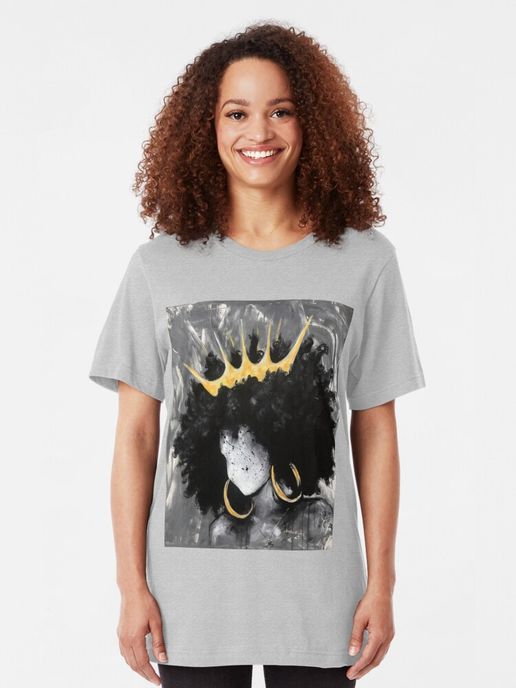 Alternate view of Naturally Queen III Slim Fit T-Shirt