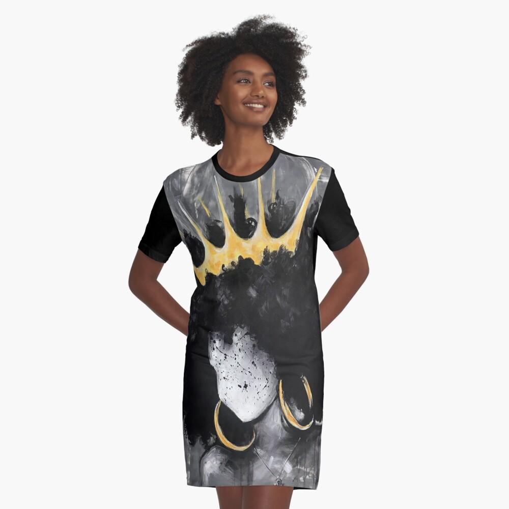 Naturally Queen III Graphic T-Shirt Dress