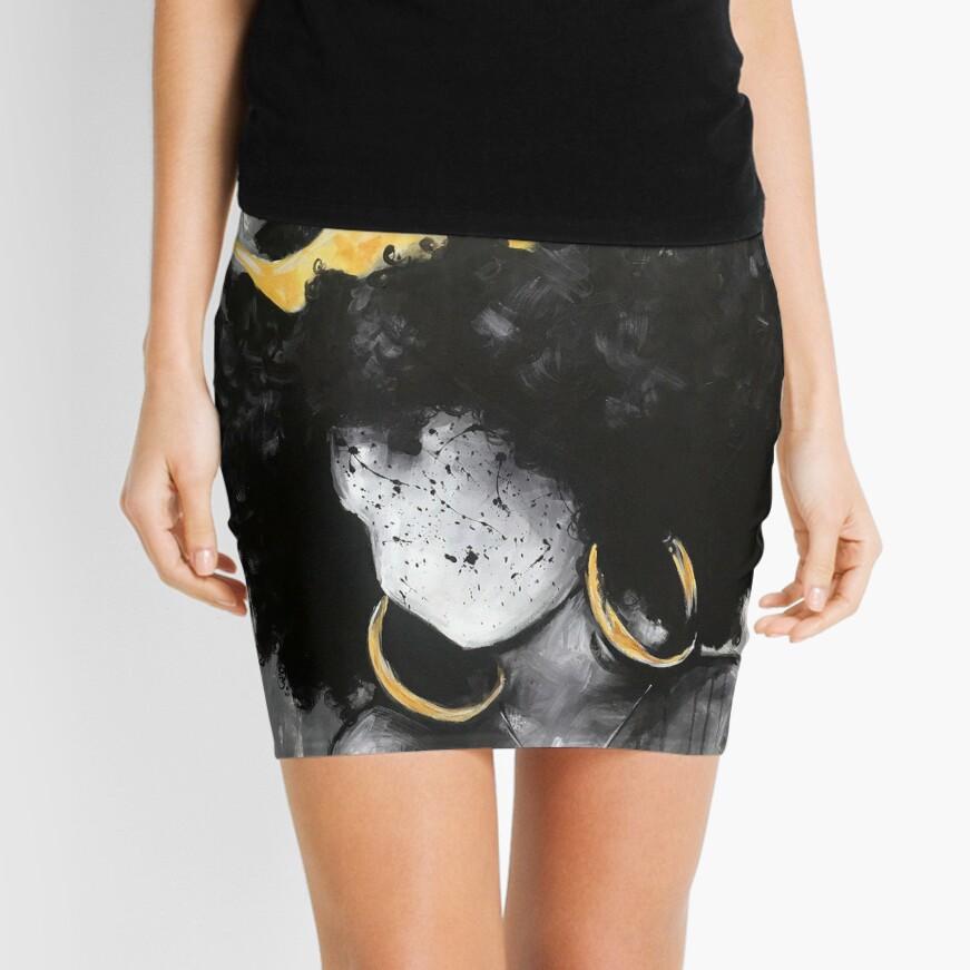 Naturally Queen III Mini Skirt
