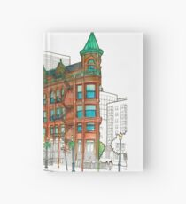 Flat Iron Watercolour Hardcover Journal