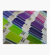 Pantone Swatch Booklet Photographic Print