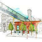 Distillery District Watercolour by TyleensArt