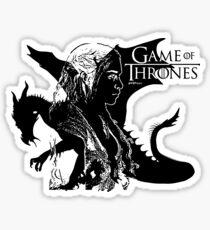 Daenerys Targarye - Game of thrones Sticker