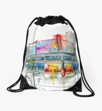 Yonge and Dundas Square South East  Drawstring Bag