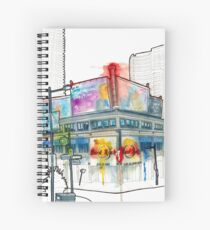 Yonge and Dundas Square South East  Spiral Notebook