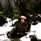 Brooke settles the blizzard by Luckyvegetable