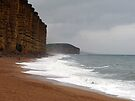 Nature v Man at West Bay in Dorset by trish725
