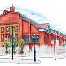 St Lawrence Market Watercolour by TyleensArt