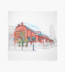 St Lawrence Market Watercolour Scarf