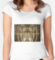 Glassy Eyes Women's Fitted Scoop T-Shirt