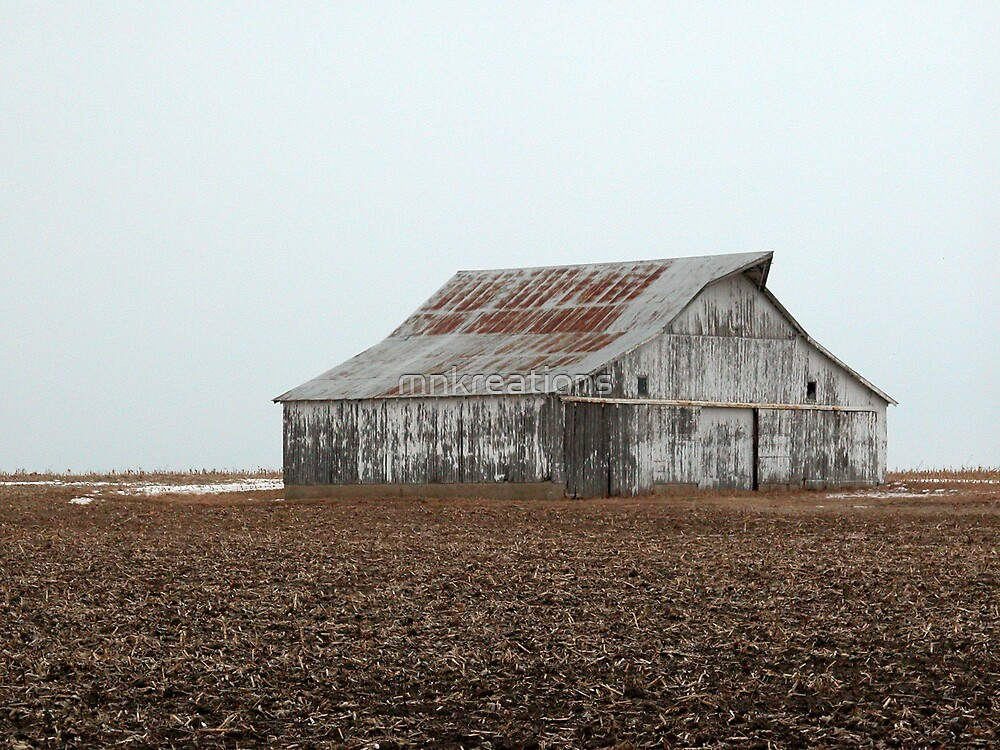 Lonely Barn by mnkreations