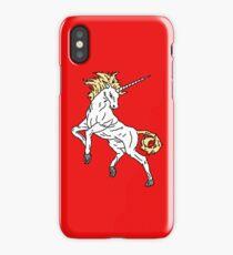 Unicorn (Red) iPhone Case/Skin