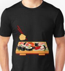Sushi plate... Unisex T-Shirt