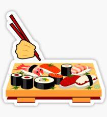 Sushi plate... Sticker